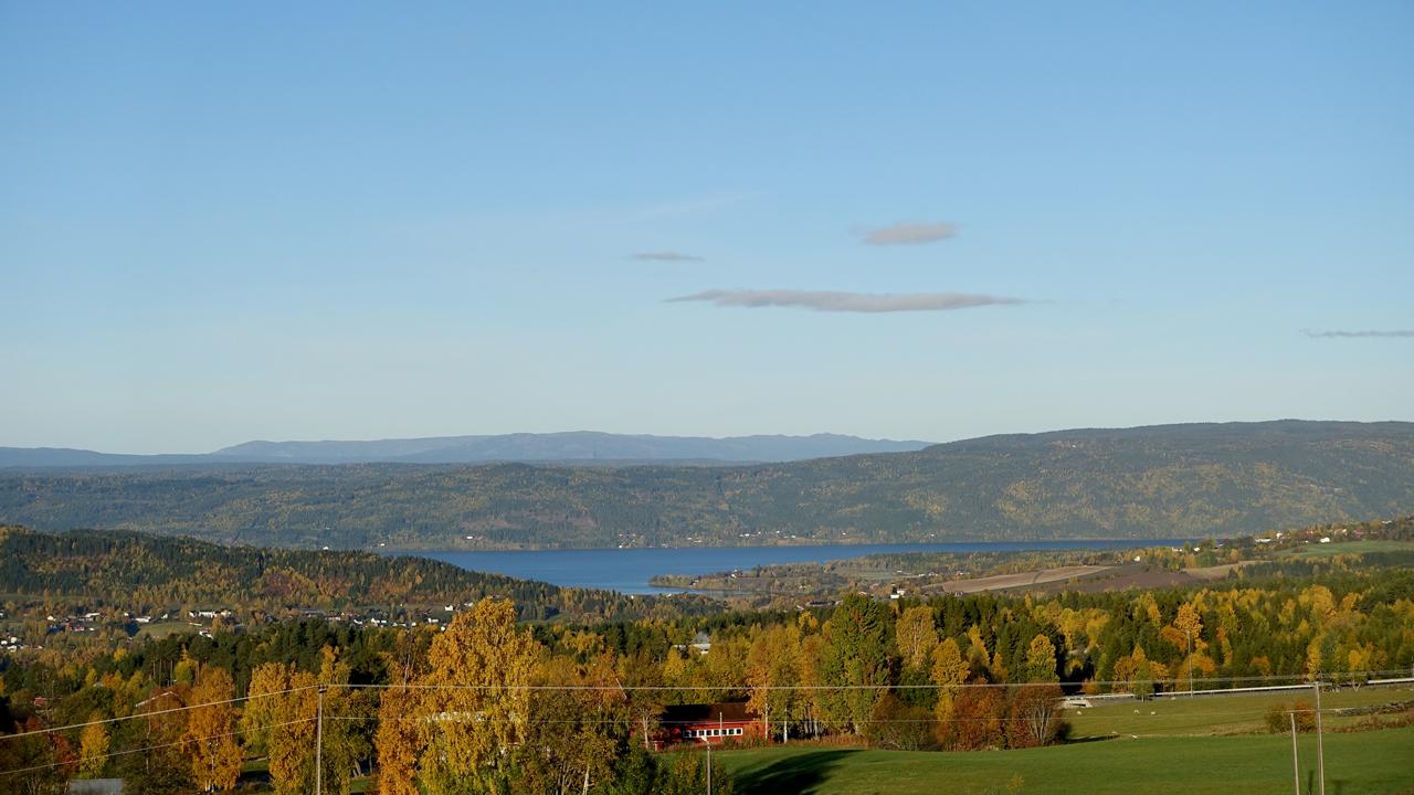 Utsikt mot Randsfjorden
